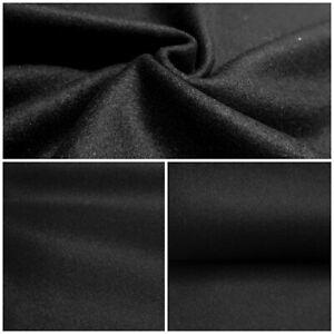 Wollfilz Filzstoff Filz 1mm Dick Stoff Deko Basteln Bekleidung Schwarz ab 0,5m