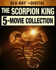 The Scorpion King 5 Movie Collection: 1 / 2 / 3 / 4 / 5 (5 Disc) BLU-RAY NEW