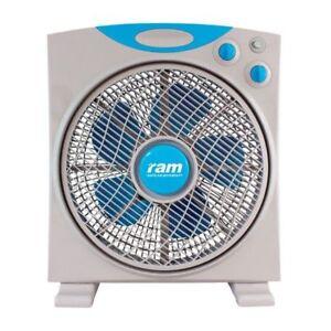 "Ram Eco Fan 12"" Oscillating 3 Speed Air Circulating Hydroponic"