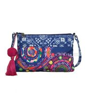 Desigual Cross Body Bag Pomelo Royal Blue 22 x 14 x 1 cm