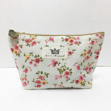 [Love is all around] Oriental Flower Small Pouch Cosmetic Bag New / From Korea