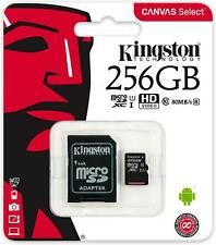 Kingston Canvas Select MicroSD Class 10 UHS-I Memory Card SD Adapter Included