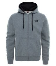 The North Face T0cg46 Open Gate Felpa Uomo Grigio Medio/nero Medium (t6m)