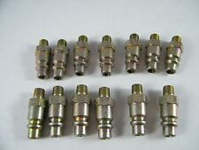 """(13) FOSTER 1/8"""" NPT X 1/4"""" ID QUICK DISCONNECT TUBE PART # 38-4"""