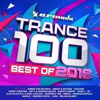 TRANCE 100-BEST OF 2016+Armin van Buuren,Paul van Dyk,Omnia,Rank1  4 CD NEU