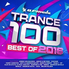 Transe 100-Best of 2016+ Armin van Buuren, paul van Dyk, Omnia, rank 1 4 CD NEUF