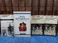 Lotto 4 libri STORIA DELL'INGHILTERRA CONTEMPORANEA STORIA AMERICA