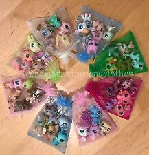 Littlest Pet Shop Lot * 4 PC Grab Bag Random Lot * LPS 1 Dog OR Cat In Every Bag