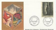 FIRST DAY COVER / PREMIER JOUR FRANCE 1991 / SEURAT / TABLEAU / MULHOUSE