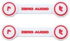 ZERO AUDIO headphone clip white ZA-CLP-WR 2 pieces