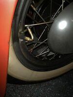 Vintage Harley knucklehead Panhead Flathead Shovelhead 45 Degree Tire Extension
