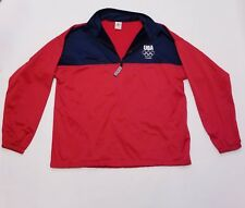 2012 London Olympic Games Team USA Pullover Sweater Jacket XXL