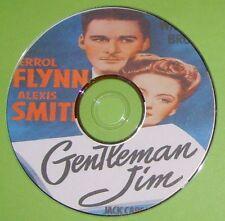 DRAMA 053: GENTLEMAN JIM 1942 Raoul Walsh Errol Flynn, Alexis Smith, Jack Carson