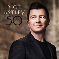 RICK ASTLEY 50 CD ALBUM (Released June 10th 2016)