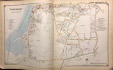 1917 NORTHPORT HARBOR SUFFOLK COUNTY LONG ISLAND NEW YORK ATLAS MAP