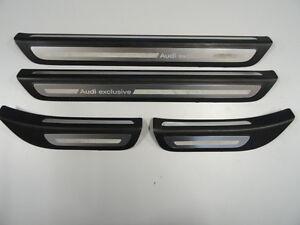 original Audi Q5 8R Set Einstiegsleiste Audi exclusive 8R0853373D 8R0853374D