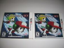 Original Box Case Replacement for Nintendo 3DS Cave Story 3D w/3D Sleeve