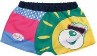 Baby Born Natación Shorts Conjunto Para 43cm Muñecas Zapf Creation - Cara