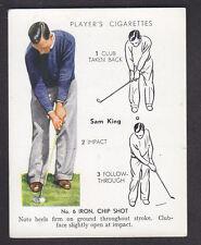 John Player - Golf 1939 (Overseas) - # 18 No. 6 Iron Chip Shot