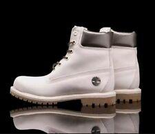 "Timberland boots 6"" Premium Waterproof Boots A1JFW Off- women White/ Metallic"