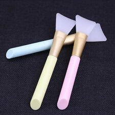 Plastic Handle Soft Rubber Facial Face Mud Mask Mixing Brush Stick Beauty Tool K