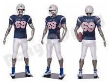 Male Fiberglass Sport Athletic style Mannequin Dress Form Display #Mc-Brady06