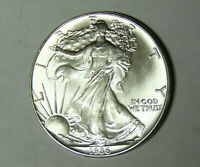 1986 American Silver Eagle 1 oz .999 Fine Silver Dollar Uncirculated