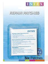 Intex Flicken 6 Reparaturflicken selbstklebend für Pool & Aufblasartikel , (P)