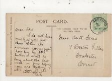 Miss Edith Toms Overton Villas Dorchester 1908 759a