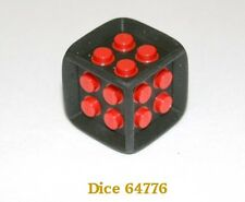 Lego Games Dice 64776  black with red studs