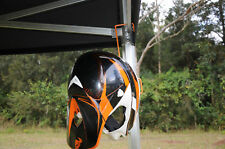 MX HELMET HOLDER HOOK PIT SHADE MARQUE KTM HONDA YAMAHA
