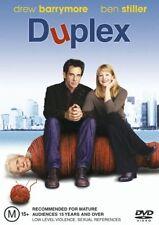 Duplex (DVD, 2005) Drew Barrymore Ben Stiller R4 🇦🇺Brand New Sealed Free Post