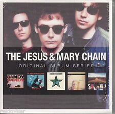 Jesus & Mary Chain / Psychocandy, Darklands, Automatic u.a.  (5 CDs, NEU! OVP)