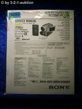 Sony Service Manual DCR PC115 PC115E PC120BT PC120E Level 2 Digital Video(#5685)