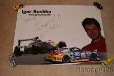2007 Igor Sushko signed H.I.S. Nissan 350Z SEMA Show Super Taikyu Series poster