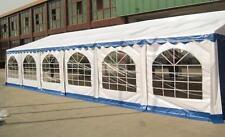 6x12 m PVC Partyzelt Zelt Festzelt Bierzelt Pavillon 6x12m