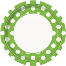 Art de la table de fête assiettes vertes pour la maison