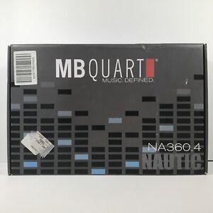 MB Quart NA360.4 Nautic Marine Audio Amplifier Full Range 4 Channel, 360-Watt