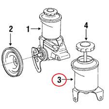 genuine oem power steering pumps parts for toyota pickup ebay 1993 Toyota Camry Power Steering Schematic for power steering reservoir genuine 4430635150 for toyota 4runner pickup 3 0l