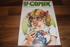 U-COMIX # 64 di 1985 -- Margerin-EDIKA-al Voss-Howard Cruse-Franquin-Lucques
