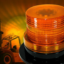 12V LED Beacon AMBER YELLOW Light Strobe Flashing Rotating Warning Truck Car New