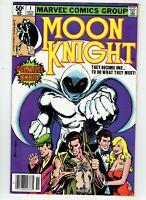 Moon Knight #1 1980 Key Bronze Age Book Origin TV Show Coming Hot Newsstand B