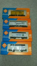 4 x ROCO 4305 B C & D FURTENBERG, LOWENBRAU, PSCHORR,?& 4312 B DINKELACKER TRAIN