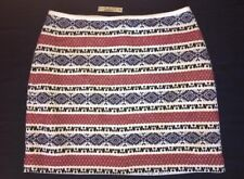 Madewell Skirt 4 Jacquard Gamine g3461 NWT $88 Sold Out Online!
