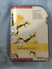 Microsoft  Expression Studio 2 Standard Academic Version for Windows and Mac