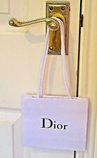 CHRISTIAN DIOR - ORIGINAL AND GENUINE - SMALL TEXTURED GIFT BAG WITH CORD HANDLE