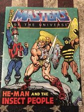 1983 He-Man &  Insect People Mini Comic Book MOTU Masters of The Universe Mattel