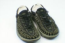 Keen UNEEK Army Green Black Bungee Cord Sport Sandals Shoes Men's Size 8 s1