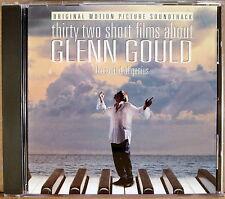 SONY Thirty Two Short Films about Glenn Gould SOUNDTRACK (CD, 1994) SK-46686
