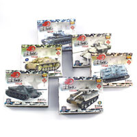6pc 4D Medium StuG IV F2 Heavy Assemble Battle Tank Model Weapons Armor Boy Gift